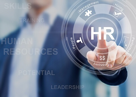 Why is it important for HR to have an accurate and updated database?