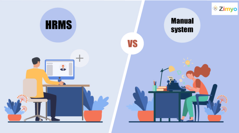 HRMS vs Manual System
