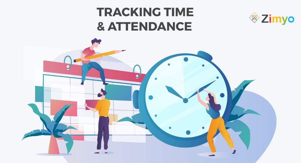 track time and attendance in an organization