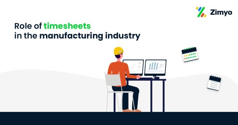 Timesheets in the manufacturing industry