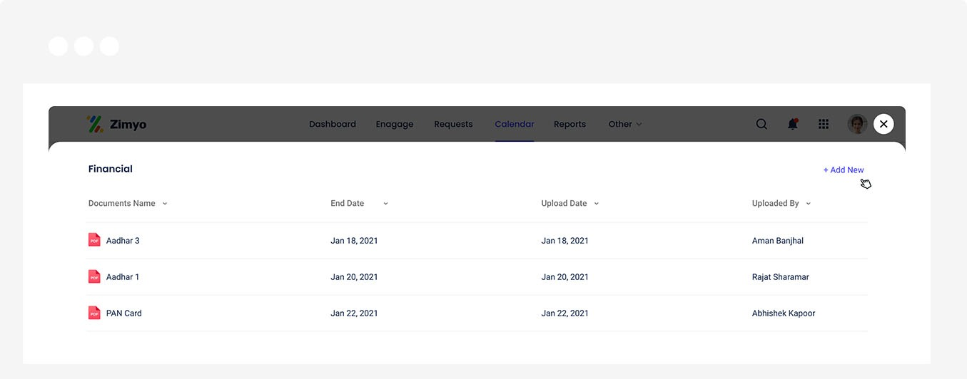 Centralized Document Repository